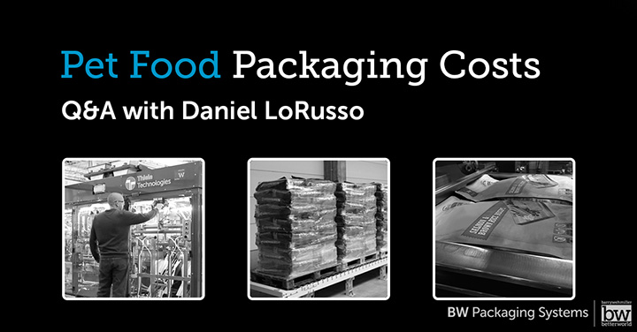 BWIS - Cost Factors for Pet Food Co-Packers