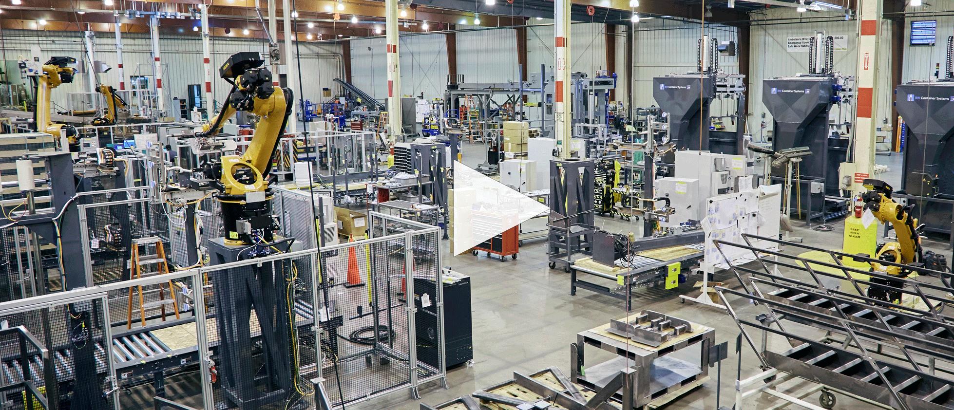 Loveland Manufacturing Floor