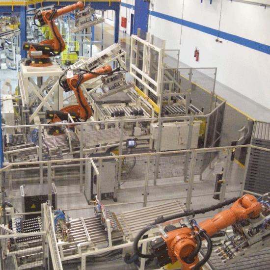 Robotic Tray Storage System
