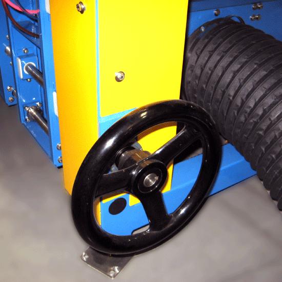 Air Single Filer Adjustment Wheel