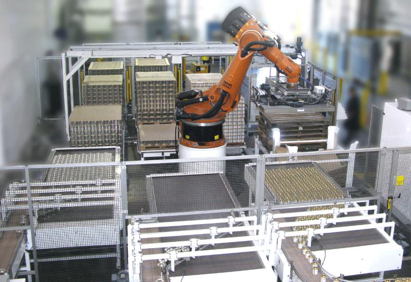 Robotic Depalletizer