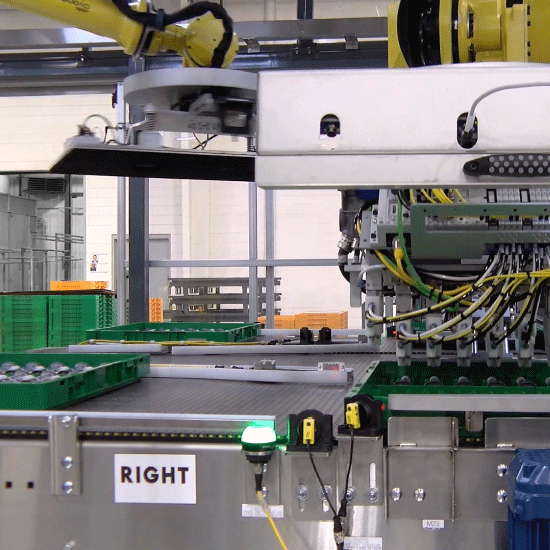 Robotic-Tray-Unloader