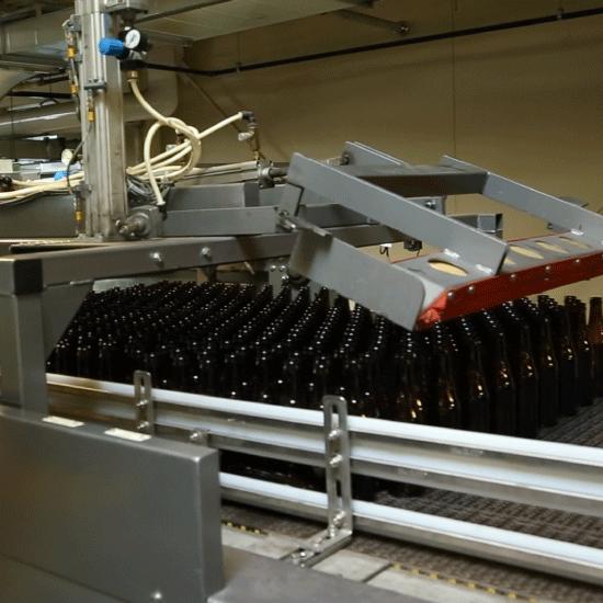 Automatic Low Level Bulk Depalletizer
