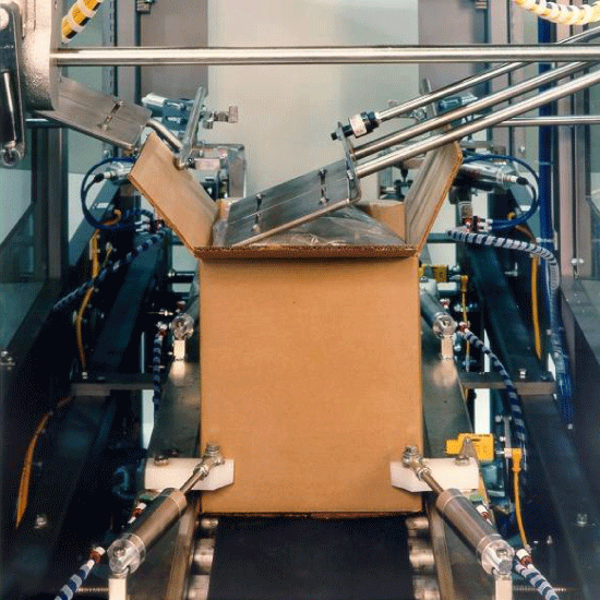 Bag in a box Folding Process - Model 1578
