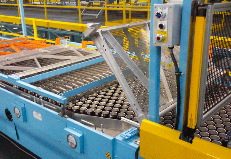 C1410ACS Empty Can Palletizer
