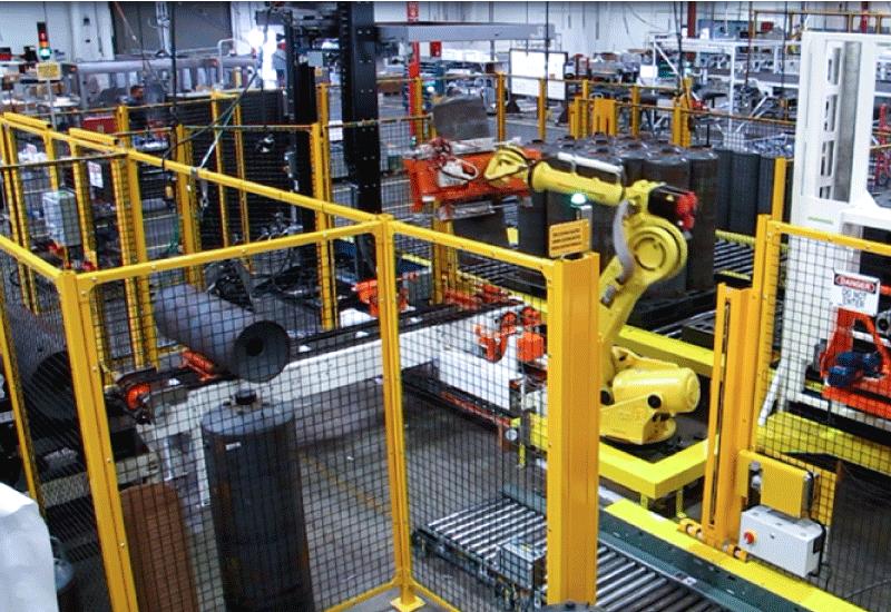 Robotic Cylinder Palletizer
